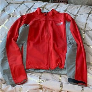 Light/athletic North Face jacket